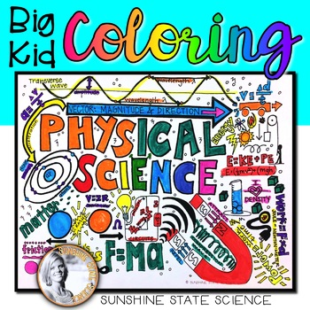 Big Kid Physical Science Coloring Pages by Sunshine State Science