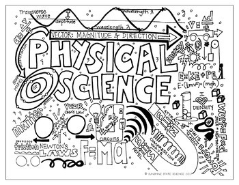 big kid physical science coloring pages - Science Coloring Pages