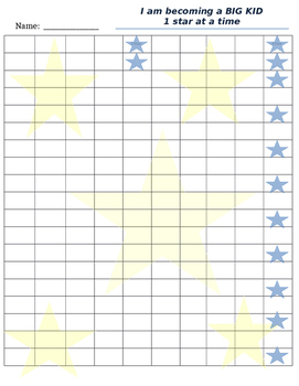 Big Kid Star Chart