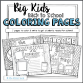Big Kids: Back to School Coloring Pages   Motivational Quotes
