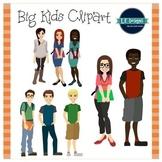 Big Kids and Teens Clipart {L.E. Designs}