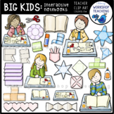 Big Kids Interactive Notebook Clip Art