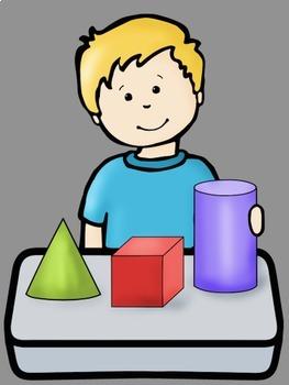 Big Kids Math Set 1 Clip Art