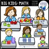 Big Kids Math Set 1 Clip Art - Whimsy Workshop Teaching