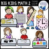 Big Kids Math Set 2 Clip Art