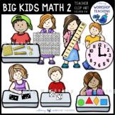 Big Kids Math Set 2 Clip Art - Whimsy Workshop Teaching