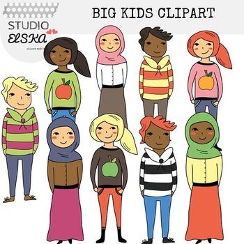 Big Kids / Teenager Clipart