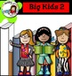 Big Kids 2 (with books and frames)- Color and black/white