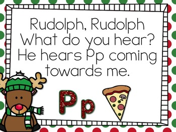Big Letter Little Letter - Christmas Edition {Rudolph}