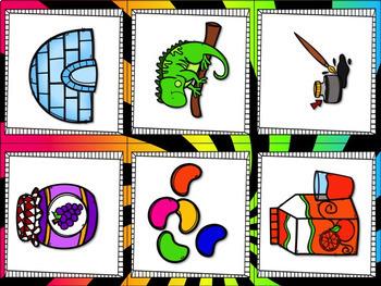 Beginning Sound Sort: Kindergarten Word Work Activities / Word Work Center
