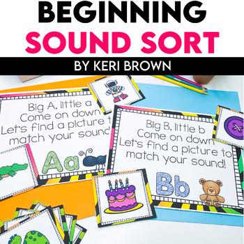 Big Letter Little Letter - Sound Sort Chant