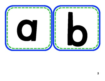 Big Letters for Boggle, Making Words and Literacy Activities