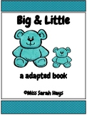 Big & Little Counting Bears Adapted Book