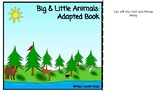Big & Little Animals Adapted Book