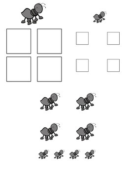 Insect Big / Little Sorting Task for Early Childhood Special Education