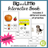 Big-Little Interactive Book FREEBIE!!!