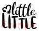Big Little Little Little Middle Little  SVG baby boy girl sister brother 909s