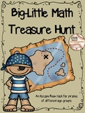 Big - Little Math Treasure Hunt (an escape room activity)