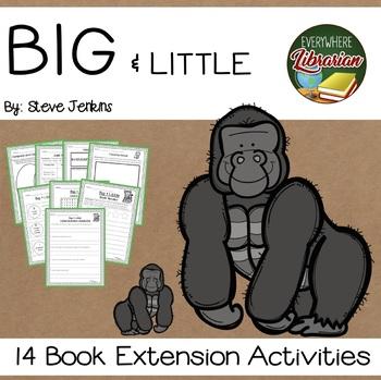 Big & Little by Steve Jenkins Non Fiction Literacy Pack