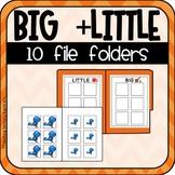 Big + Little Sorting File Folders (Special Education)