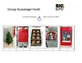 Big Lots Christmas Item Scavenger Hunt