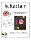 Big Mack Labels