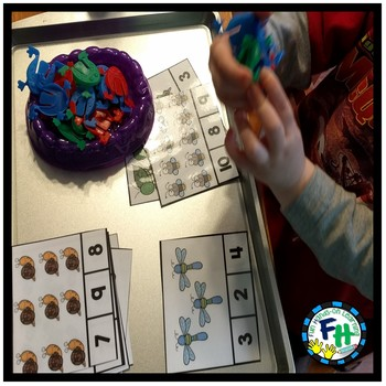 Big Math Activity Centers Bundle {GROWING}