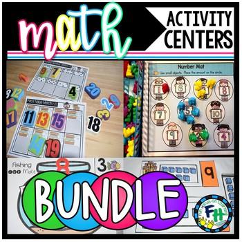Big Math Activity Centers Bundle