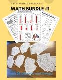 Beginning of Year 3rd Grade Math Worksheets