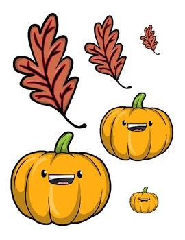 Big, Medium, Small-Autumn Theme