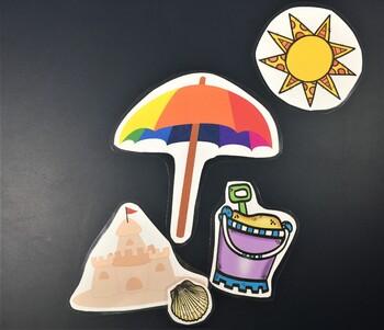 Big, Medium, Small-Summer Theme