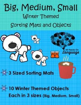 Big, Medium, Small-Winter Theme