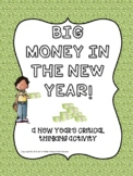 Big Money in 2017! New Year's Critical Thinking Activity (exponents, money)