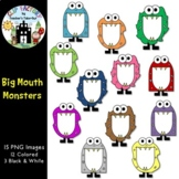 Big Mouth Monsters Clip Art