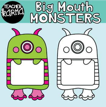 Big Mouth Monsters / Frames