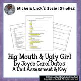 Big Mouth & Ugly Girl Unit Test by Joyce Carol Oates  Lang