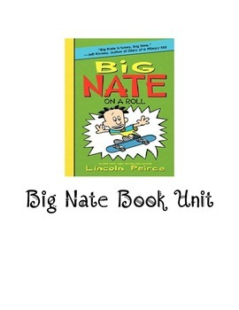 Big Nate on a Roll book unit