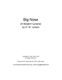 Big Nose stage play script (A Modern Cyrano)