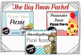 Big Noun Packet with Possessive Nouns, Proper Nouns, and Plural Nouns