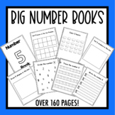 Big Number Books!  Numbers 1-20 Practice!  Number of the Week Books