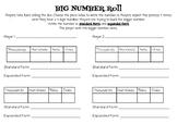 Big Number Roll