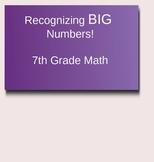 Big Numbers PowerPoint