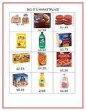 Big O's Marketplace (Adding and Subtracting Decimals)
