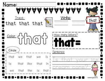 Big Pack of Sight Words