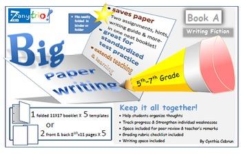 Big Paper Writing: Writing Fiction