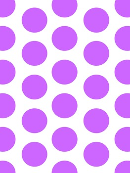 Big Polka Dot Backgrounds