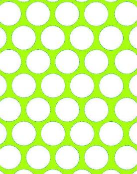 Big Polka Dot Green Papers