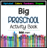 Big Preschool Activity Book