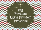 Big  Problem, Little Problem Presents: A Social Skills Activity