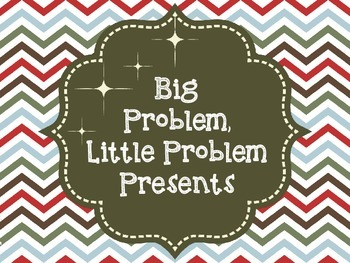 Big  Problem, Little Problem Presents: A Social Skills Activity